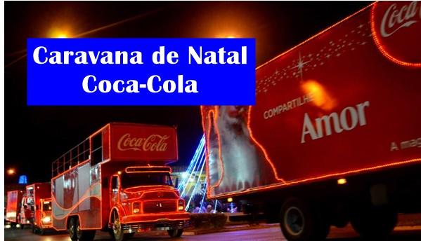 caravana de natal coca cola