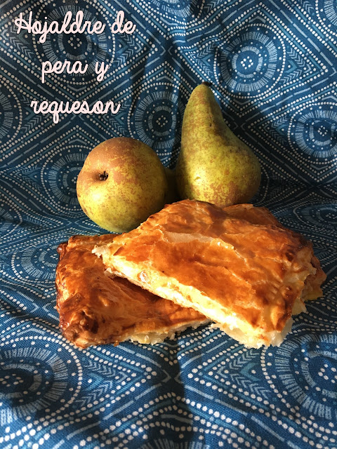 ricotta-and-pear-puff-pastry, hojaldre-de-requeson-y-pera