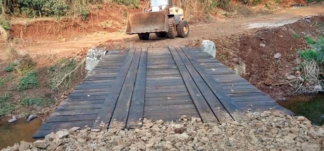 Foi concluida a recuperação da 11ª ponte em Iretama