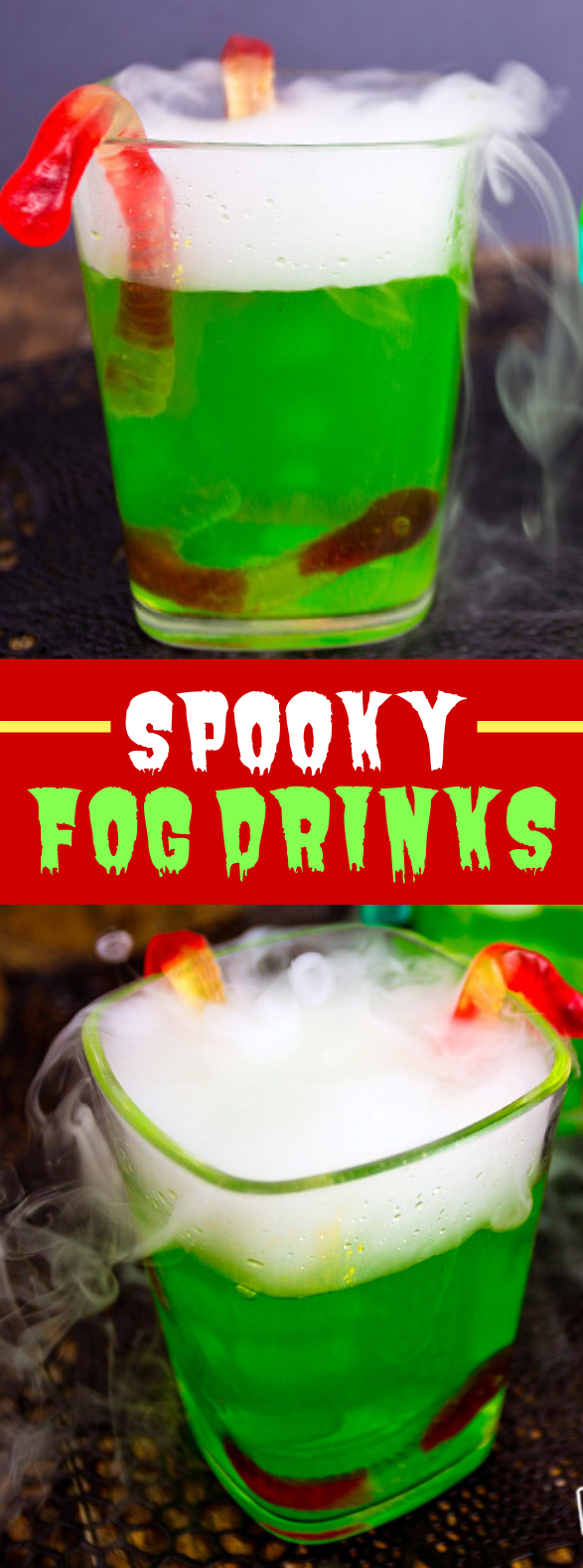 SPOOKY FOG DRINKS FOR A HALLOWEEN PARTY #kidfriendly #dryice