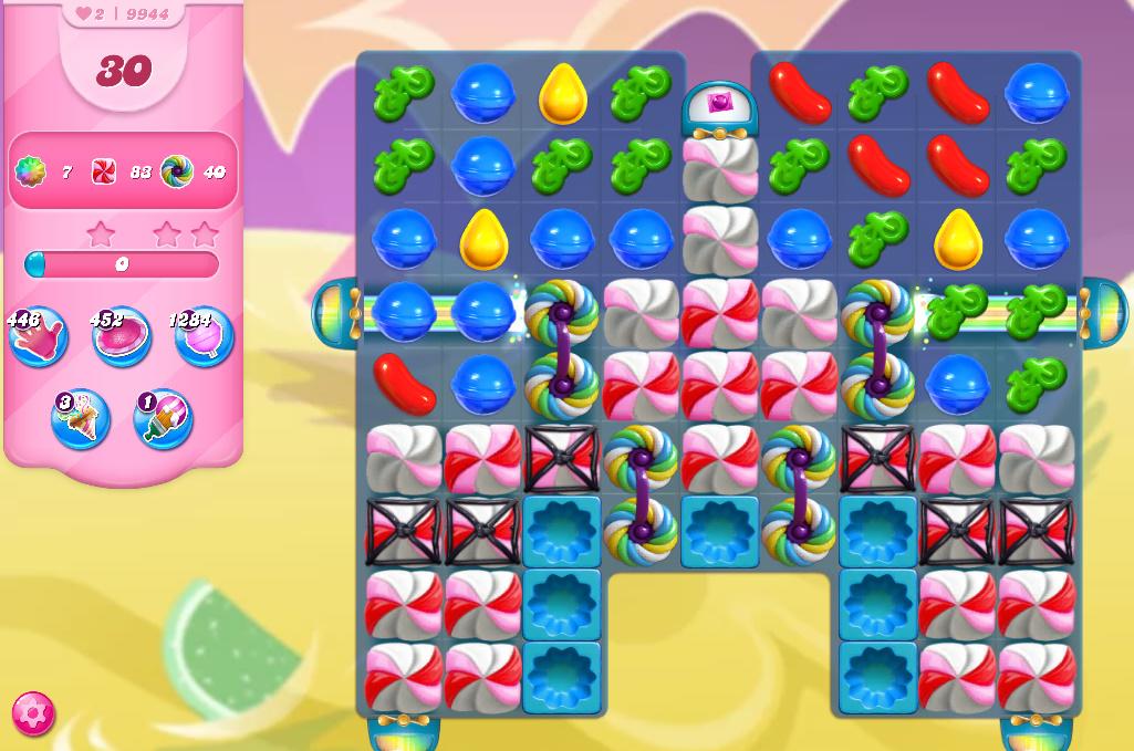 Candy Crush Saga level 9944
