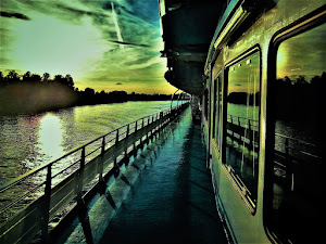 Riverboat in Russia