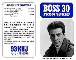 KHJ Boss 30 No. 20 - Gary Mack