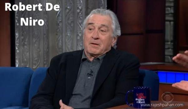 Robert De Niro height