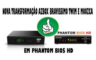 BRAVISSIMO EM PHANTOM BIOS ATUALIZAÇÃO MODIFICADA V1.044 - 30/11/2016