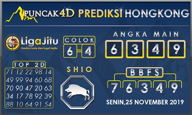 PREDIKSI TOGEL HONGKONG PUNCAK4D 25 NOVEMBER 2019