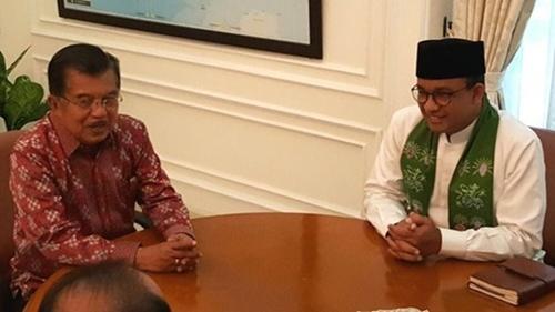 Mengejutkan! Jusuf Kalla Jadi Pelindung Bagi Anies Baswedan