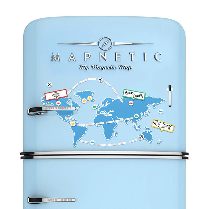 15+ Of The Best Traveler Gift Ideas Besides Actual Plane Tickets - Magnetic Map