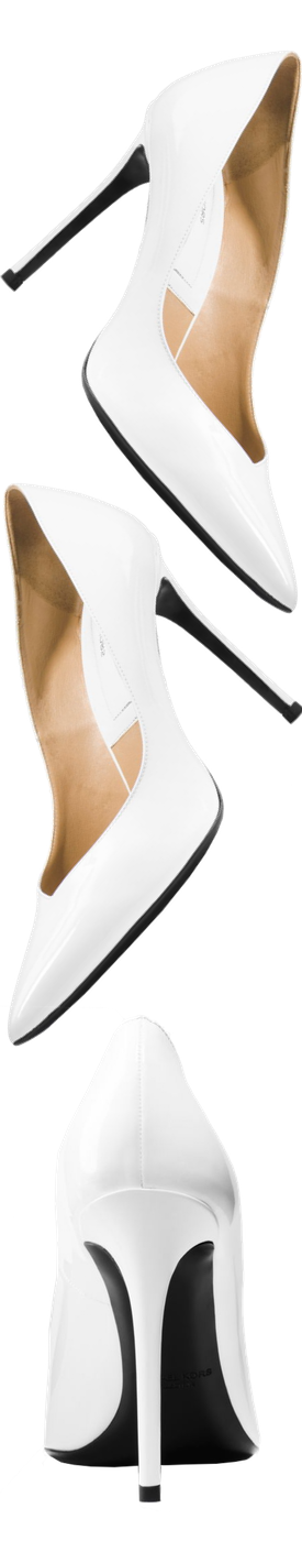 MICHAEL KORS COLLECTION Muse Patent Leather Pump