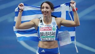 Ασημένια η Μπελιμπασάκη στα 400 μέτρα – Δεύτερη στην Ευρώπη