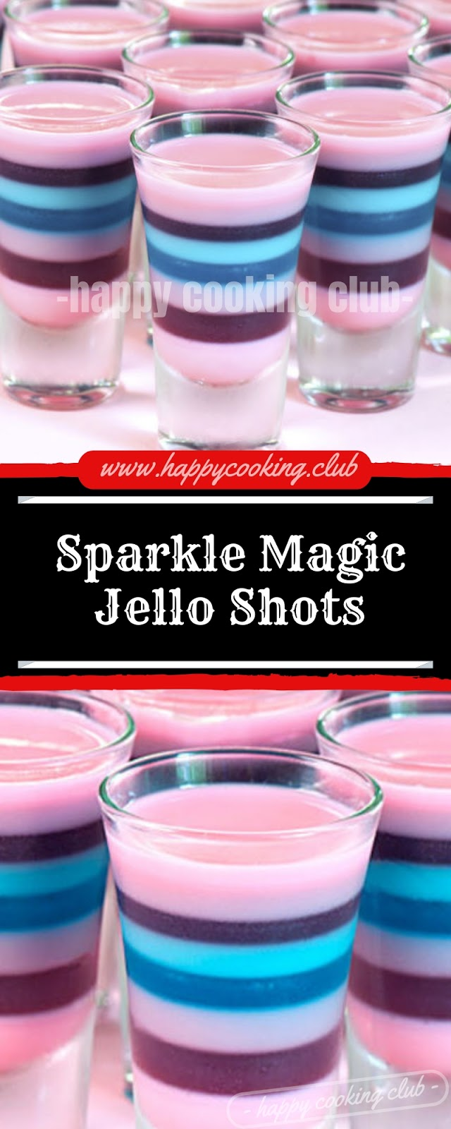 Sparkle Magic Jello Shots