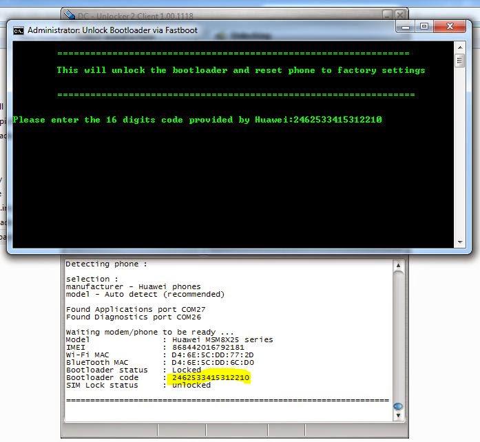 Huawei Y300 Unlock Bootloader - Mark Sanel