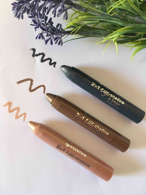 Review :  2 in 1 Eye Shadow & Liner