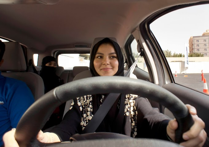 17+ Yrs Women can obtain driving License in Saudi