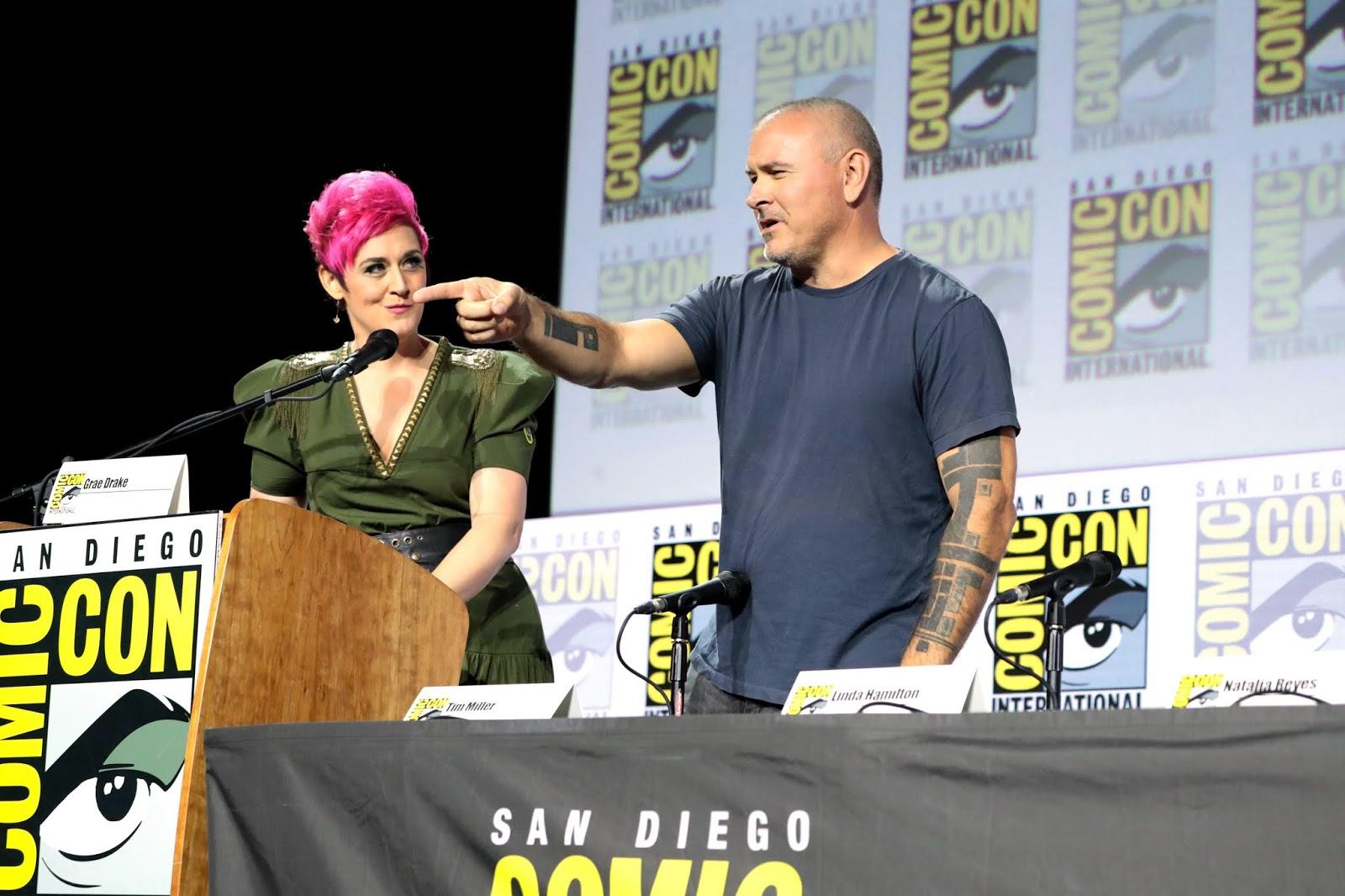 TERMINATOR: DARK FATE Comic-Con Extended Featurette, Photos