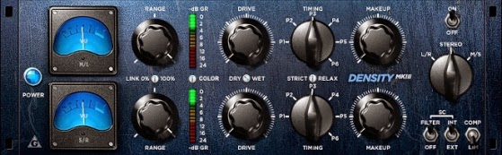 Plugins VST Compressor Density MKIII