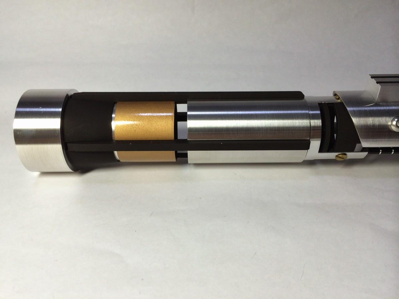 Tonfa lightsaber prototype - YouTube |Prototype Lightsaber
