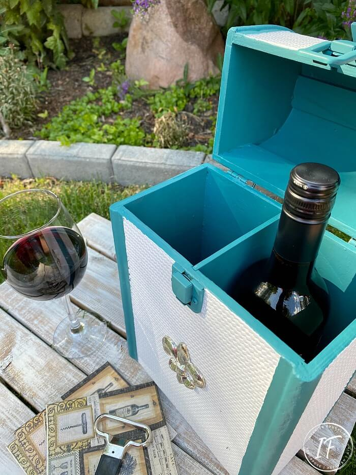 Two Bottle Wine Tote Makeover