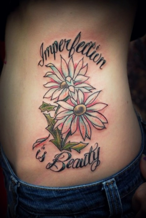 Angle Tattoos: Imperfection Is Beauty Tattoo