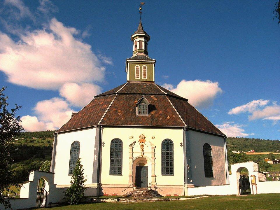 Sør-Fron Church, Sacred Geometry