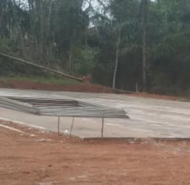 Proyek Lapang Futsal yang Bersumber Dari Dana Desa Di Desa Bojongkondang Langkaplancar Diduga Dikerjakan Oleh Pihak Ke 3