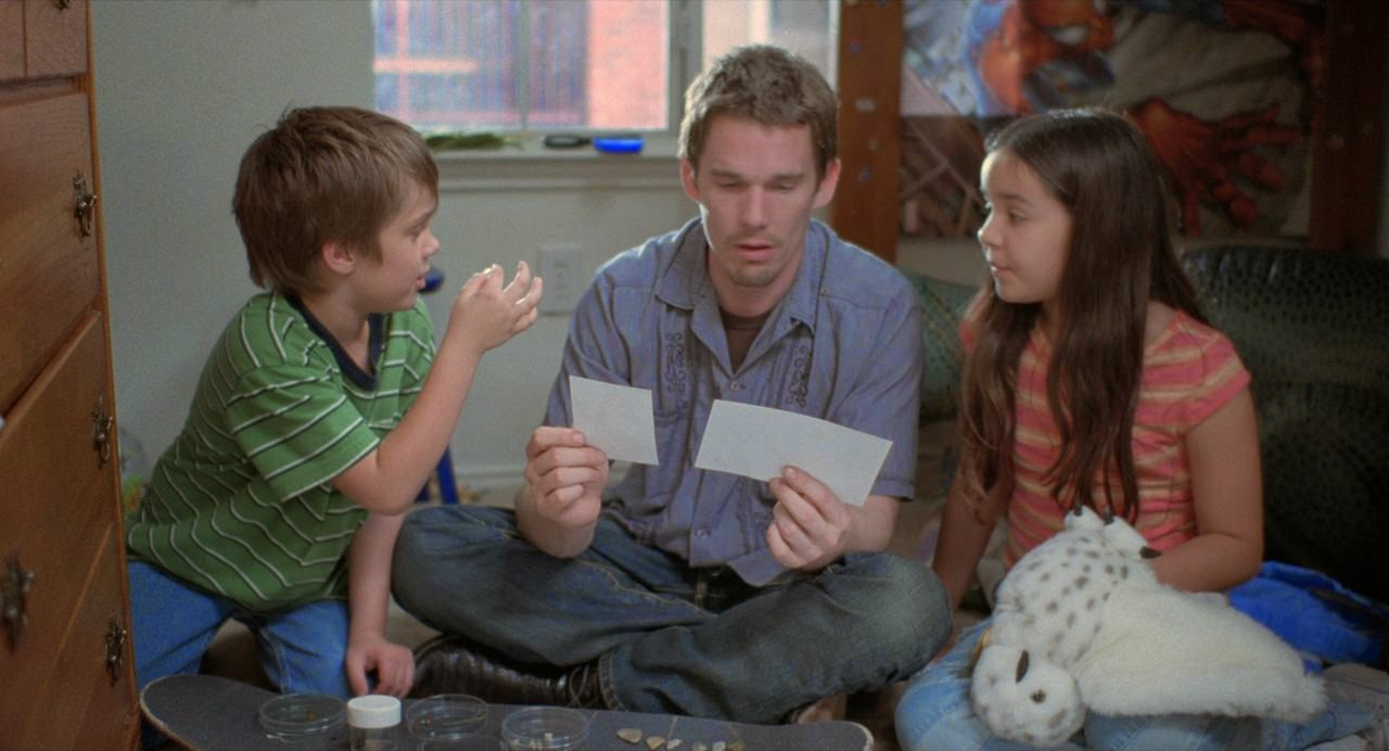 boyhood-ellar coltrane-ethan hawke-lorelei linklater