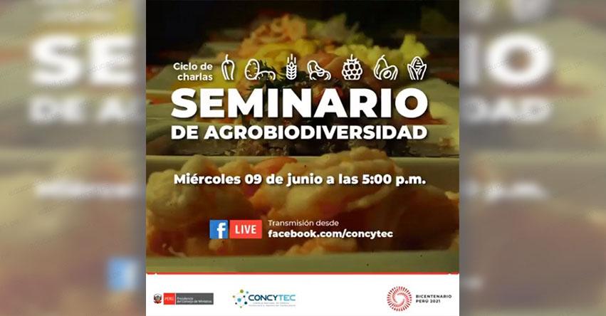 CONCYTEC organiza la charla virtual «Cocinas regionales del Perú y la biodiversidad»