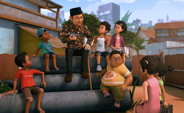 Mengenang Habibie Bersama Serial Kartun Adit & Sopo Jarwo