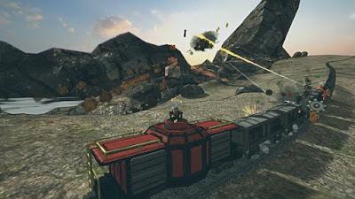 تحميل لعبة القطارات مع المدافع عليها في الغرب المتوحش! أطلق النار