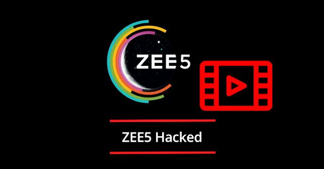 ZEE5 Hacked