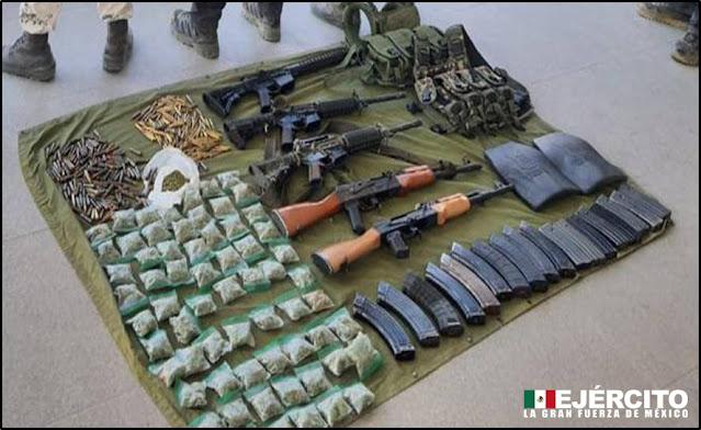 Tropas del Ejército Mexicano repelen agresión armada en el estado de Michoacán