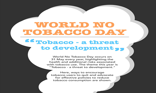 World No Tobacco Day #infographic