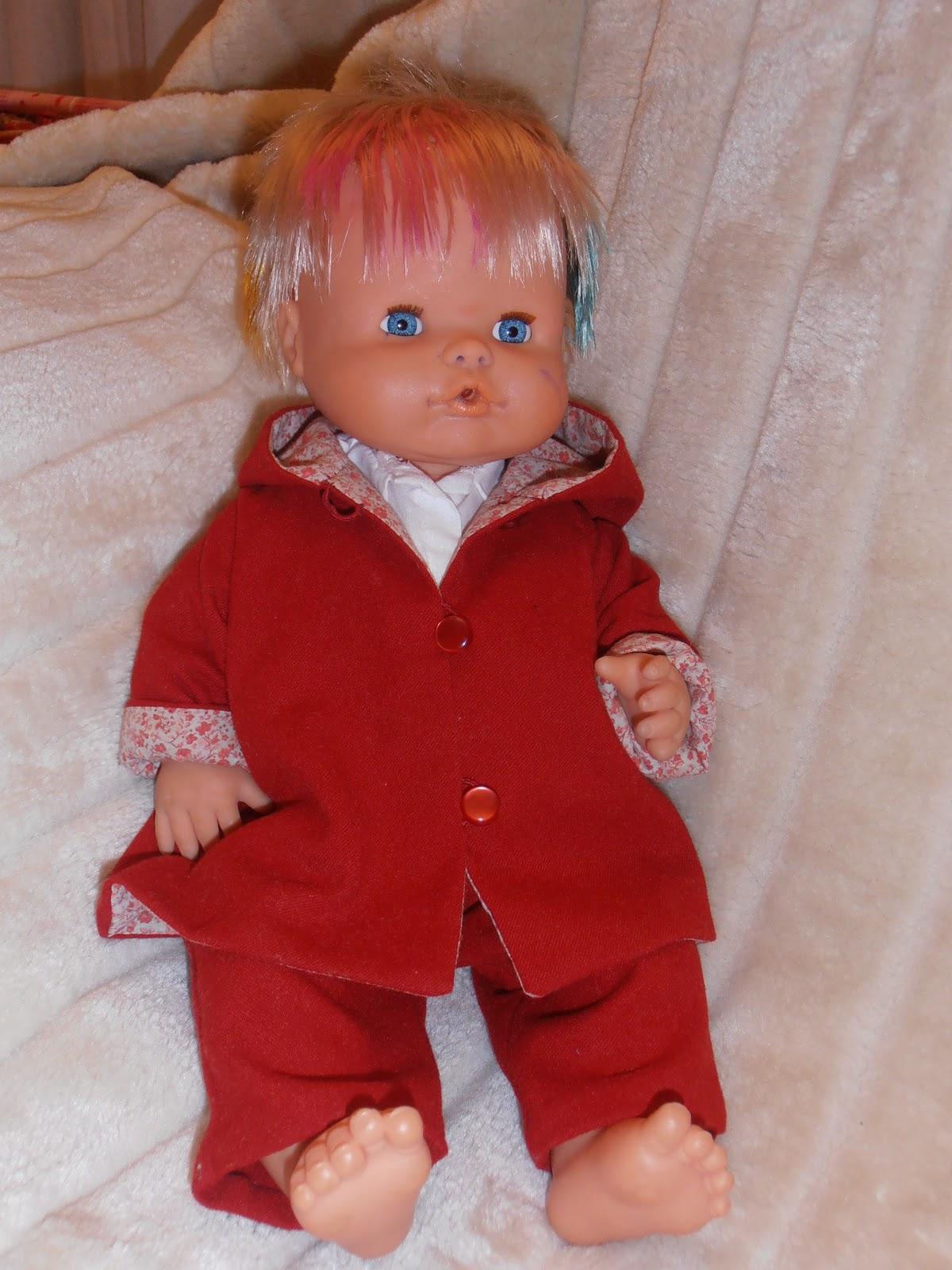 como diseñar ropa para muñecas