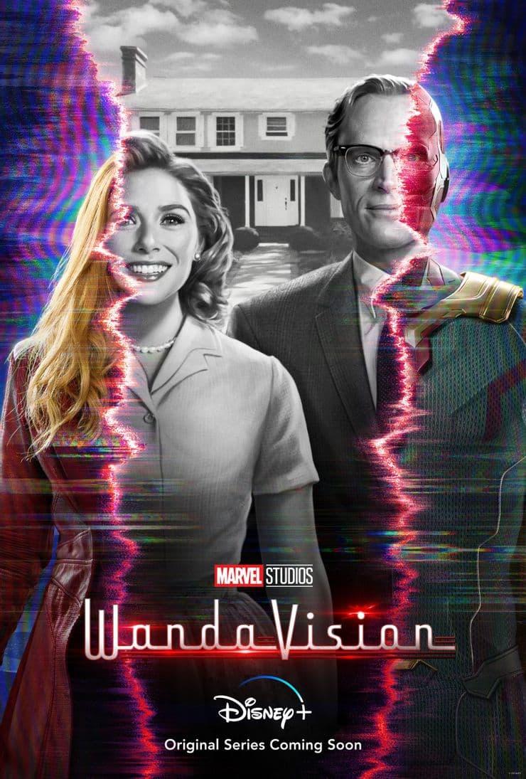 Marvel показала трейлер сериала «Ванда/Вижн» - Постер