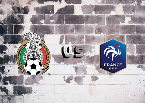 México Sub vs France Resumen y Partido Completo