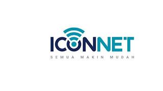 ICONnet adalah produk layanan internet kabel atau broadband berbasis jaringan fiber optik dari PLN