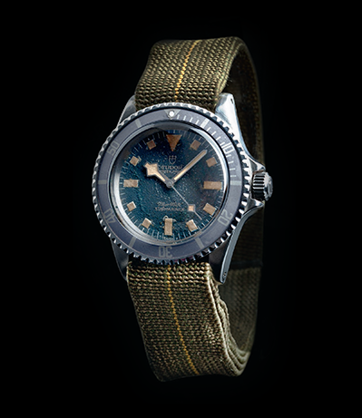 "Tudor Oyster Prince Submariner ""Marine Nationale"""