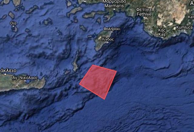 Με Navtex για άσκηση στην Κάρπαθο απαντάει η Τουρκία