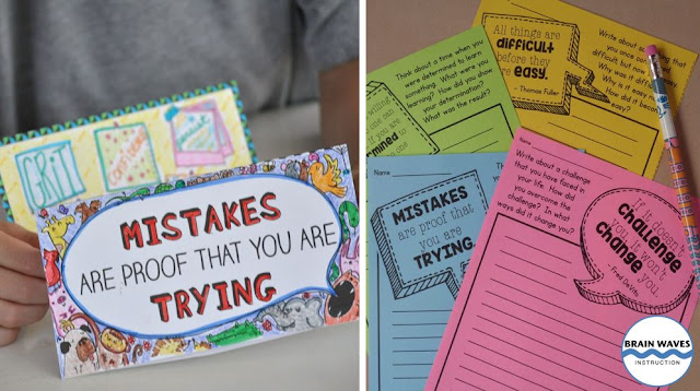 Ready to teach growth mindset all year long? Then you'll love this collection of growth mindset activities and ideas. Find growth mindset lessons and more!