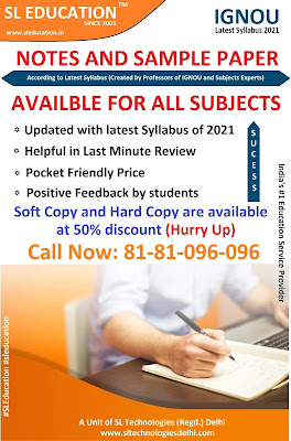 IGNOU last review notes and Important Questions (Call: 81-81-096-096)
