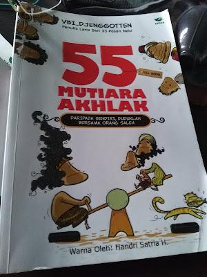 Cover Buku 55 Mutiara Akhlak