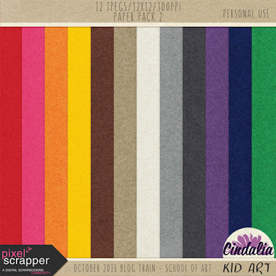 Pixel Scrapper, blog train, Photoshop, Digital, Scrapbook, October, 2016, freebie