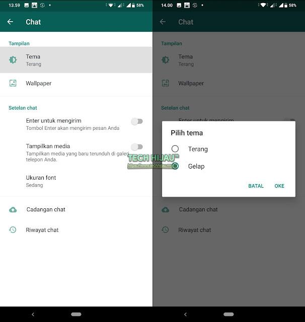 Cara Mengaktifkan WhatsApp Dark Mode - Tech Hijau.my.id (2)