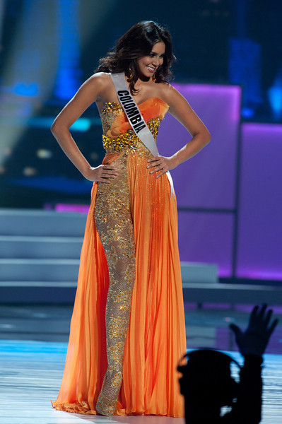 miss haiti 2011 evening gown