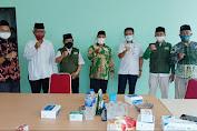Jalin Silaturahmi, Pengurus PCNU Jakarta Barat Kunjungi Kesbangpol Jakbar