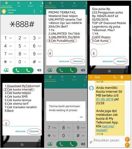 Begini Cara Mengecek Kuota Internet Simpati Indosat Xl Dan Tri Dengan Benar Dan Cepat Sabine Blog
