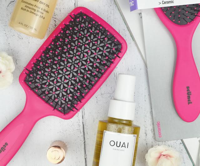 Scünci Hair Styling Brushes Review Lovelaughslipstick Blog