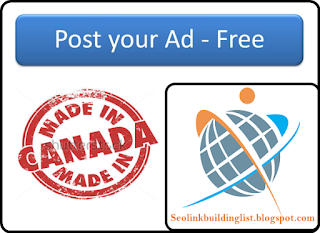 Top High PR Classified Ads Sites List for Canada