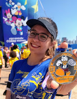 disney magic run 2019 medalha corrida