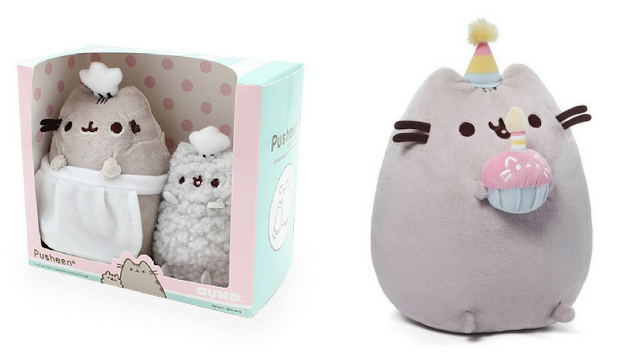 Win Pusheen & Stormy Baking Collection Set and Pusheen Happy Birthday Cupcake giveaway